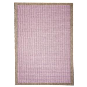 Fialový koberec vhodný i na ven Floorita Chrome Plum, 135 x 190 cm