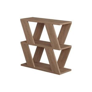 Příruční stolek v dekoru dubového dřeva Lazena Oak