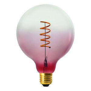 Růžovo-transparentní žárovka Homemania Coriandoli
