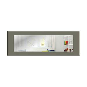 Nástěnné zrcadlo s šedým rámem Oyo Concept Eve,120x40cm