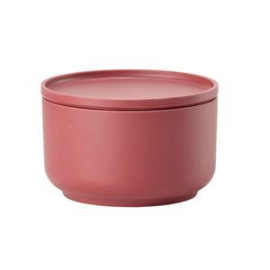 Červená servírovací miska s víkem Zone Peili, ⌀ 12cm