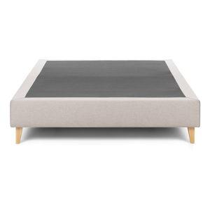 Béžová dvoulůžková postel La Forma Nikos,180x200cm