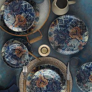 24dílná sada porcelánového nádobí Kutahya Turrio