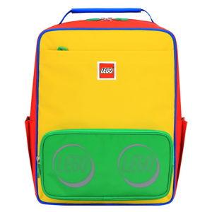 Červeno-žluto-zelený dětský batoh LEGO® Tribini Corporate Classic
