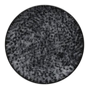 Šedý kameninový podnos Costa Nova Roda Mimas, ⌀ 28 cm