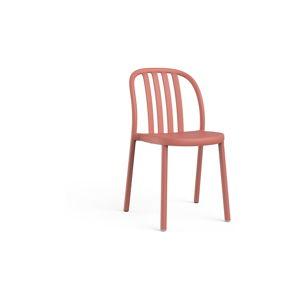 Sada 2 cihlově oranžových zahradních židlí Resol Sue