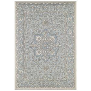 Modro-béžový venkovní koberec Bougari Anjara, 160 x 230 cm