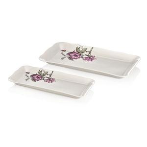 Sada 2 porcelánových talířů Emilios