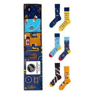 Sada 3 párů ponožek Many Mornings Hobby,vel.43–46