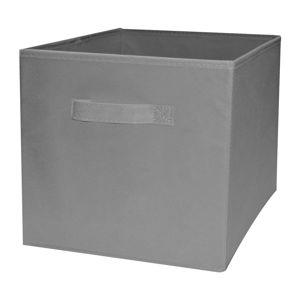 Šedý skládatelný úložný box Compactor Foldable Cardboard Box