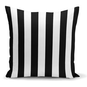 Povlak na polštář Minimalist Cushion Covers BW Stripes Minimalismo, 45 x 45 cm