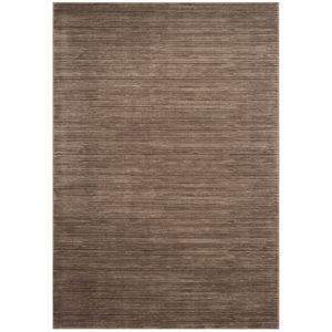 Tmavě hnědý koberec Safavieh Valentine, 228 x 154 cm