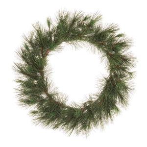 Zelený vánoční věnec Unimasa Crown,ø50cm