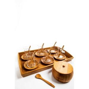 23dílný čajový set Bambum Gala