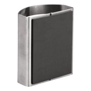 Kovový magnetický držák na tužky iDesign Forma, 5,5x10cm