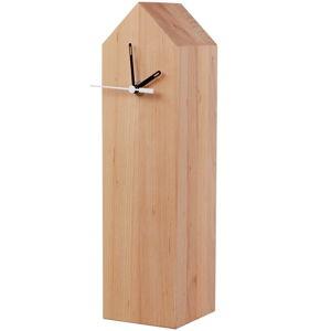 Stolní hodiny z olšového dřeva Nørdifra Blocks House