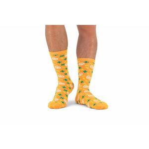 Unisex polévkové ponožky v plechovce Luckies of London Carrot & Corriander