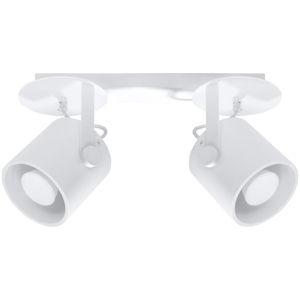 Bílé stropní svítidlo Nice Lamps Lea 2