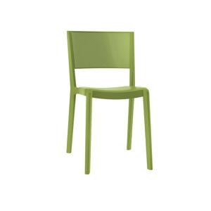 Sada 2 olivově zelených zahradních židlí Resol Spot