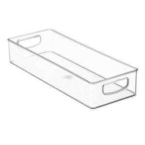 Průhledný organizér iDesign, 40,5x15cm