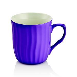 Modrý porcelánový hrnek Efrasia